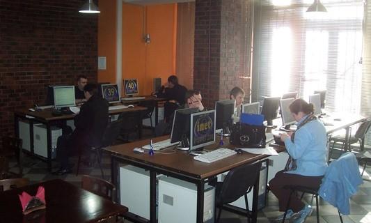 Интернет кафе, игровые автоматы использует незарегистрированные игровые автоматы