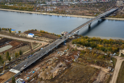 Названы сроки сдачи 2-ой очереди моста вБалаково