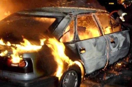 Под Саратовом всгоревшей машине найдено тело 35-летнего мужчины